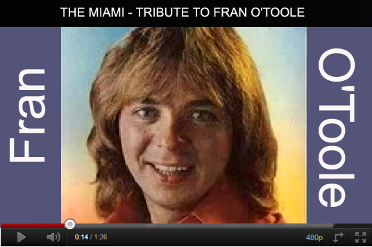 Tribute To Fran O'Toole